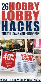 26 Hobby Lobby Hacks That'll Save You Hundreds - The Krazy Coupon Lady 11 Great Ways How To Use Email Countdown Timer Mailerlite Femine Hygiene And Organic Personal Lubricants Good Clean Love Body Candy Discount Code New Store Deals Sweet Defeat Coupon Codes Review 2019 Up 50 Off Travelling Weasels Topfoxx Discount Code Sunglasses 25 Hard Candy Promo Top Coupons Promocodewatch 100 Awesome Subscription Box Urban Tastebud Limited Time Offer To Write A For Only Smart Tnt Regular Mobile Load 60 Pesos