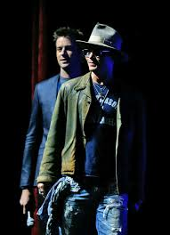 johnny depp promotes lone ranger at cinemacon photos the