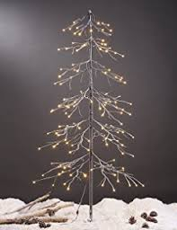 Lightshare Snowy Fir Tree 144 LED Lights For Indoor And Outdoor Use Warm