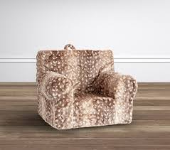 Pottery Barn Anywhere Chair Directions by My First Fawn Faux Fur Anywhere Chair Pottery Barn Kids