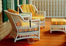 Beautiful Painting Wicker Furniture Inspiration