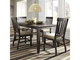 Ashley Signature Design Dresbar5 Piece Rectangular Dining Table Set