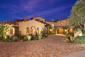 Luxury Tuscan Style House Interior & Exterior
