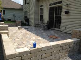 Menards Patio Paver Patterns by Diy Backyard Paver Patio Outdoor Oasis Tutorial The Rodimels