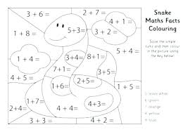 Number Coloring Pages For Toddlers Numbers Preschool Color By