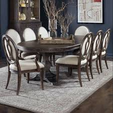 100 Oak Pedestal Table And Chairs Villa Valencia Double Pedestal Table Dining Room Set Spozywczyinfo