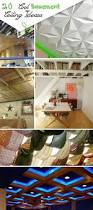 Diy Unfinished Basement Ceiling Ideas by 20 Cool Basement Ceiling Ideas Hative