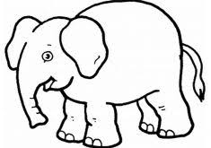 Coloring Page Of Elephant