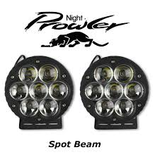 6 5 70w prowler led driving lights 10 degree spot beam