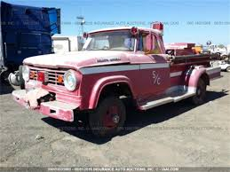 100 67 Dodge Truck 19 15 OR 16 FT FIRE TRUCK For Sale ClassicCarscom CC961397