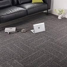 premium teppichfliesen teppich für schlafzimmer wohnzimmer kinderzimmer büro dekor mit rutschfester unterseite aus asphalt 50 8 x 50 8 cm