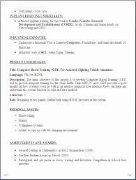 Bsc Computer Science Resume Format Best Of Samples For Freshers Ixiplay Free