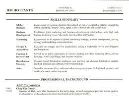 computer skills resume level cover letter resume exles for skills section resume exles