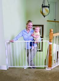 Amazon.com : Regalo Extra Tall Top Of Stairs Gate, With Banister ... Baby Gate For Stairs With Banister Ipirations Best Gates How To Install On Stairway Railing Banisters Without Model Staircase Ideas Bottom Of House Exterior And Interior Keep A Diy Chris Loves Julia Baby Gates For Top Of Stairs With Banisters Carkajanscom Top Latest Door Stair Design Wooden Rs Floral The Retractable Gate Regalo 2642 Or Walls Cardinal Special Child Safety Walmartcom Designs
