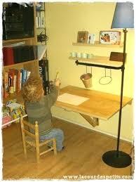 bureau enfant moderne faire un bureau soi meme fabriquer bureau enfant on decoration d