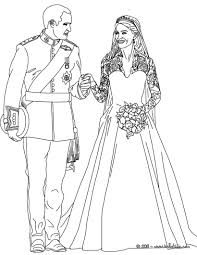Awesome Free Wedding Coloring Pages 27