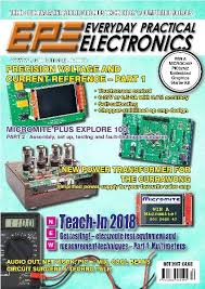 Practical Woodworking Magazine Download by Everyday Practical Electronics U2014 October 2017 Download Free