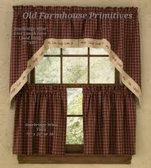 Primitive Living Room Curtains by Interesting Design Primitive Curtains Smartness Amazing Ideas For