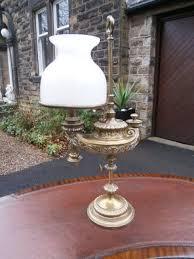 Aladdin Oil Lamps Uk by Antique Brass Aladdin Style Desk Oil Lamp Wild U0026 Wessel 255493