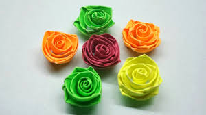 How To Make Quilling Rose Flowers Paper
