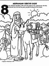 Abraham Obeys God Bible Coloring