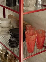 bookcase reeded glass