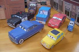 Papercraft Cars Movie Vehicles And Bob Parr Aka Mr Incred Flickr