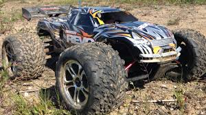 100 Traxxas Nitro Rc Trucks Revo 33 110 Monster Truck Bashing Fun With