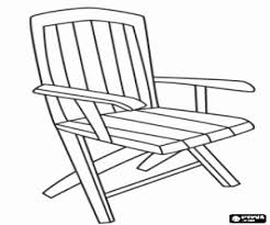 Armchair Or Chair With Armrest A Rustic Style Wardrobe Coloring Page