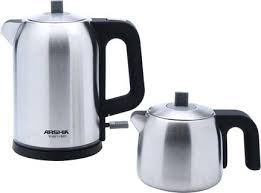 Electric Turkish Coffee Maker Dubai With Stainless Steel Tea Set Silver To Frame Amazing Machine Online India 357