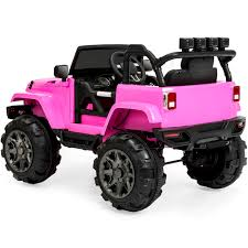 BestChoiceProducts: Best Choice Products 12V Kids Ride-On Truck Car ... Traxxas Slash 2wd Pink Edition Rc Hobby Pro Buy Now Pay Later Tra580342pink Series 110 Scale Electric Remote Control Trucks Pictures Best Choice Products 12v Ride On Car Kids Shop Kidzone 2 Seater For Toddlers On Truck With Telluride 4wd Extreme Terrain Rtr W 24ghz Radio Short Course Race Wpink Body Tra58024pink Cars Battery Light Powered Toys Boys At For To In 2019 W 3 Very Pregnant Jem 4x4s Youtube Pinky Overkill