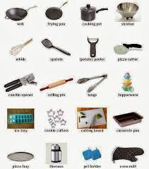 mat iel cuisine cours danglais 44 les ustensiles de cuisine en anglais les destiné à