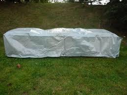 housse de protection pour canapé de jardin titanium la maison du jardin housse de protection renforcée pour
