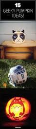 Star Wars Pumpkin Carving Templates Easy by 30 Best Nerdy Halloween Jack O Lanterns U0026 Geeky Pumpkins Images On