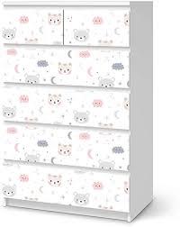 möbel für kinder passend für ikea malm kommode 6 schubladen hoch i tolle möbelsticker für kinderzimmer einrichtung i design sweet dreams
