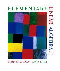 Elementary Linear Algebra 8th Edition