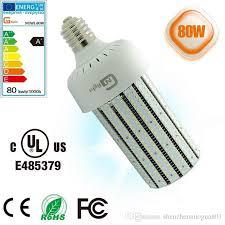 ul dlc 80watts led cob corn bulbs replace 250w metal halide