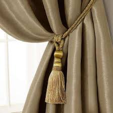 Antler Curtain Tie Backs by Curtain Holdbacks Tie Backs Curtain Rods Hardware The Home