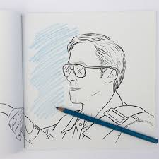Coloring Ryan Gosling Colouring Book Amazon Plus Colour Me Good