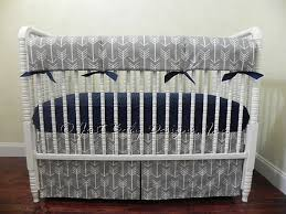 gray arrow baby bedding set boy baby bedding tribal baby