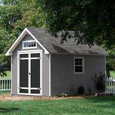 heartland stratford 12 ft x 8 ft wood storage shed lowes ca 999