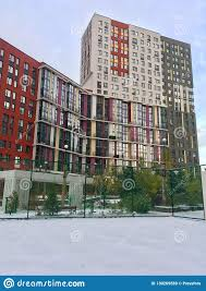 100 Apartments In Moscow Residential Buildings Editorial Stock Image Image