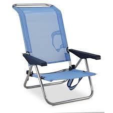 chaise ée 70 eredu chaise de plage lit 991 tx aluminium et pvc tissé bleu et