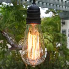st64 vintage edison light bulb squirrel cage filament e26 medium