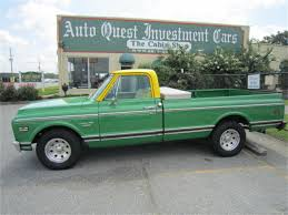 100 Chevy Truck 1970 Chevrolet C10 For Sale ClassicCarscom CC1061653