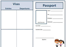 29 Passport Templates For Students