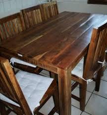 6 stühle tisch bank massives holz marke wolf möbel
