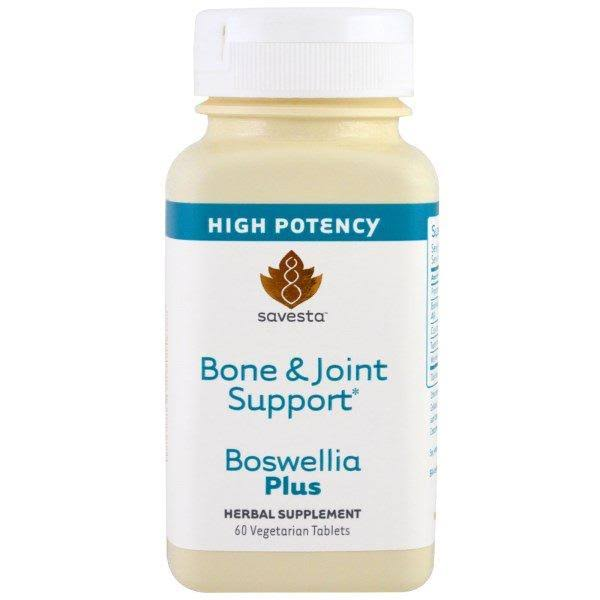 Savesta Bone and Joint Support Boswellia Plus Herbal Supplement - 60 Tablets