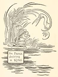 100 King Of The Frogs Aesops Books Illustrated Fables You Can Read Online