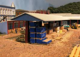 84 Lumber Shed Kits by Atlas Model Railroad Co Modeling Plywood And Wrapped Lumber